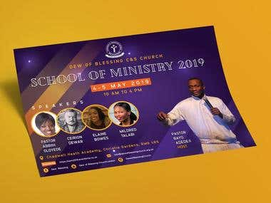 Dew of Blessing C&S Church - School of Ministry 2019 Event