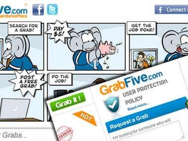 Grab five