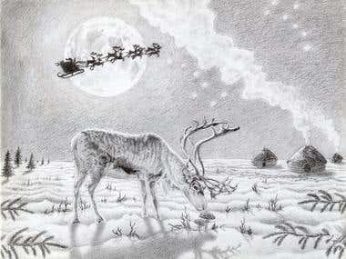 Amanita Reindeer