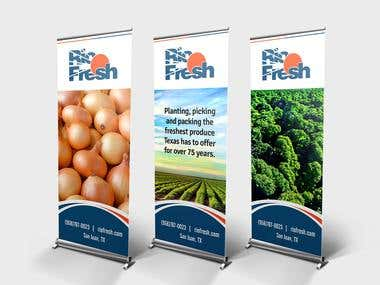 Rollup Banner Designs