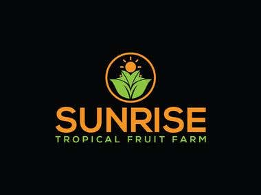 SUNRISE FRUIT FARM LOGO