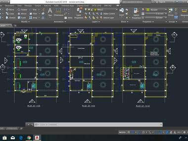 2D and 3D Autocad Drawings
