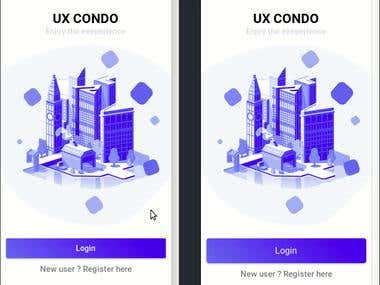 mobile app (ios & android) - uxcondo (property management)