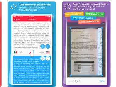 Scan & Translate+ - ocr Image scanner & translator