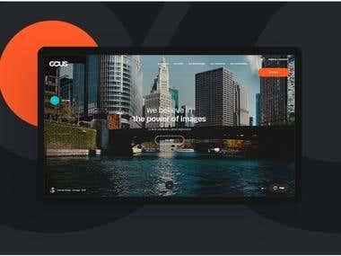 i used html5 css3 and bootstrap for this website mainly