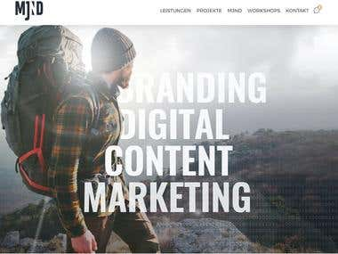 I have used html5 ,css3 and bootstrap to make this website