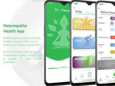 Naturopathy Health App