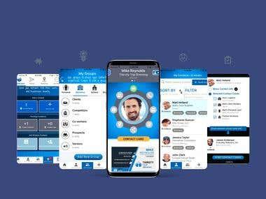 Contactmesh - Cross platform Saas Application for Business