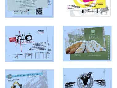 Business Card Designs and Printing