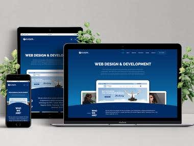 WordPress website - Glasier Inc.