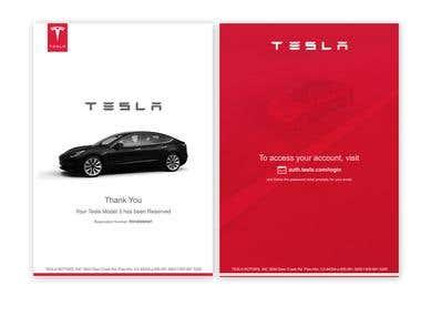 Tesla Model 3 - Gift Certificate