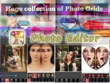 Photo edit Mobile App