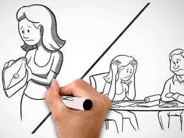 Whiteboard Animation & Voice Over