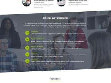 Desarrollo web Ecaldima