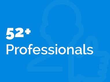 52+ Professionals