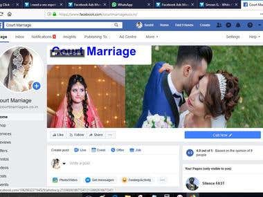 Facebook Campaigns For Legal Work in India