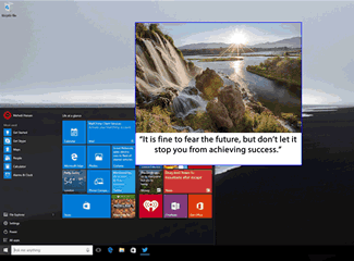 C# Tray Message & Picture Application