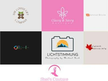 Clean and modern logo design