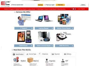 Electronic Buy Sell - Wordpress