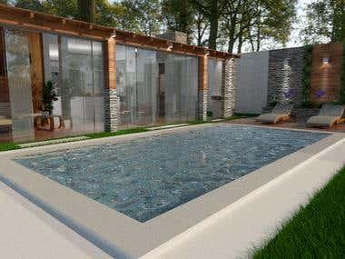Diseño arquitectónico casa