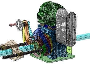 BORE MILLING MACHINE - CATIA V5R21