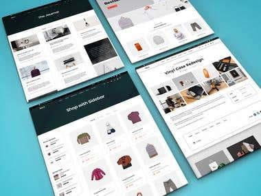 web design and graphic design