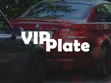 VIP Plate Android application