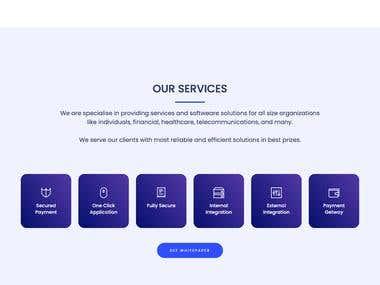 NLPCube IT Company Website