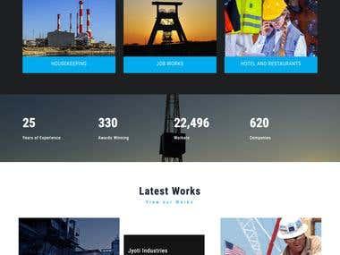 Manpower Supplier Company Website