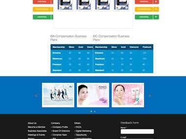 Advertise Industry Wordpress Website
