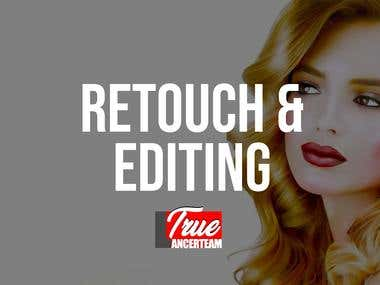 PHOTOSHOP RETOUCH & EDITING