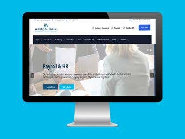 WordPress Website- Accounting Service