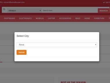 Multi Seller eCommerce Website