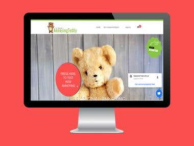 Wordpress-Teddywebsite