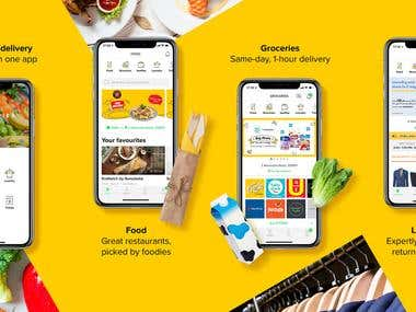 honestbee food & groceries