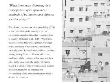 Corporate Social Responsibility: Middle East & North Africa