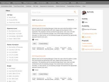 EmployeeStack - Online marketplace