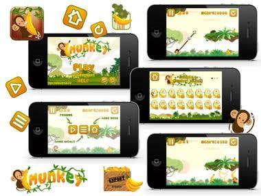 Munkey - Iphone Game