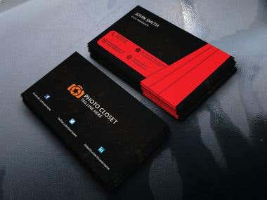 Business Card(Black&Red Edition)