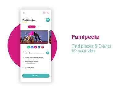 Famipedia flutter application