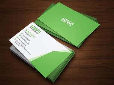 Unique Business Card Design