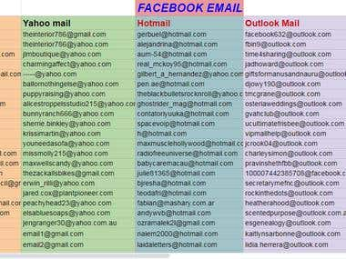Collect Email or Bulk Emails for your Businesses
