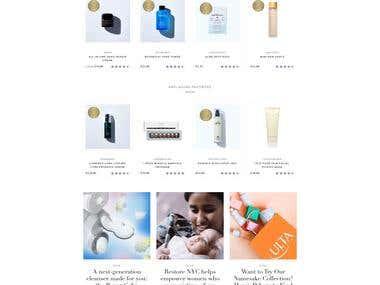Beautiful & Popular Shopify project