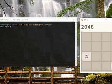 2048 Game Clone