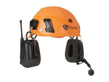 3D Helmet With Hedphone