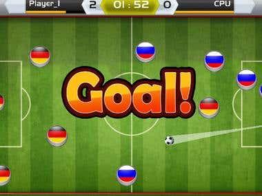 Unity Finger Soccer