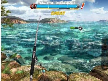 3D Fishing game
