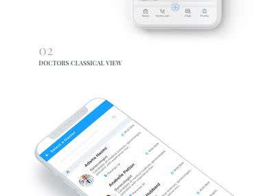 APP UI-BOOK AN APPOINTMENT DESIGN