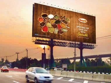 Hoarding Design & Brand Promotion