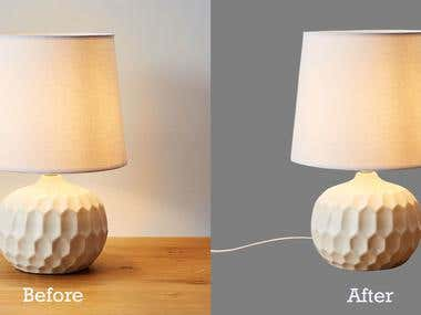 Clipping path and background remove